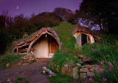 Simons beautiful woodland eco home