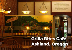 Grilla Bites Cafe home of delicious organic snacks