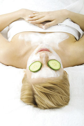 Relax with a Home Facial Treatment