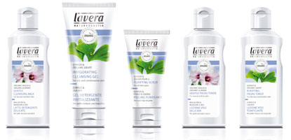 The Lavera Faces Cleansing System
