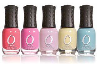 Brand new colours from Orly mini nail polish