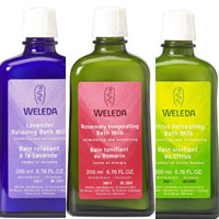 Weleda Bath Milks