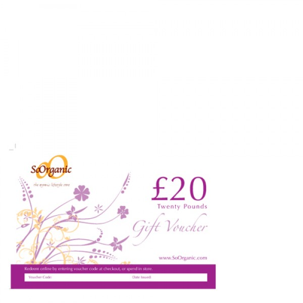 So Organic Gift Voucher £10