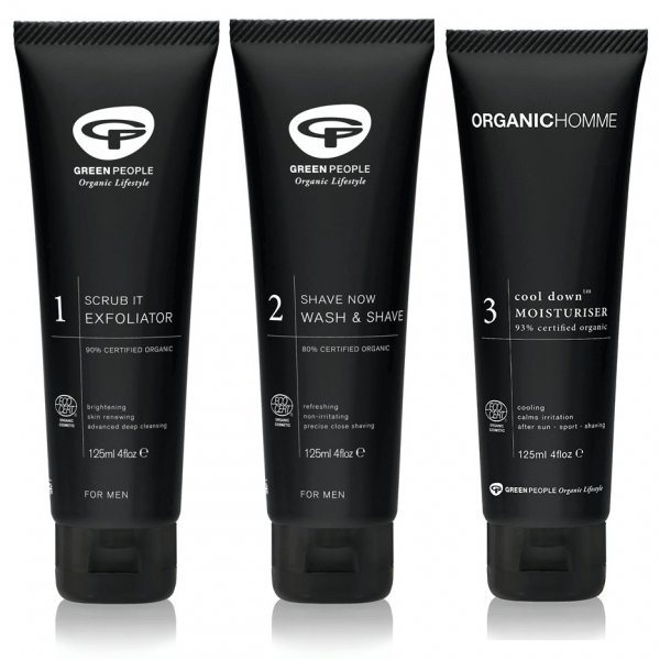 Organic Homme - 3 Step Shave Bundle