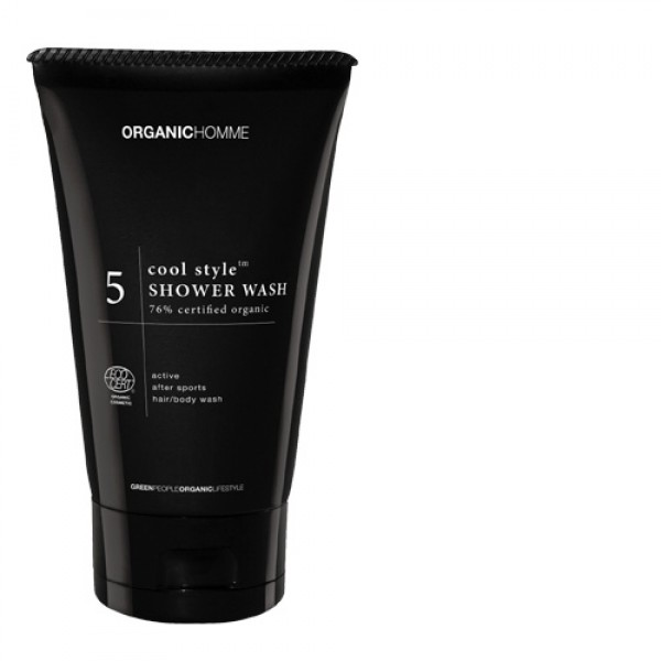 Organic Homme Cool Style Shower Wash