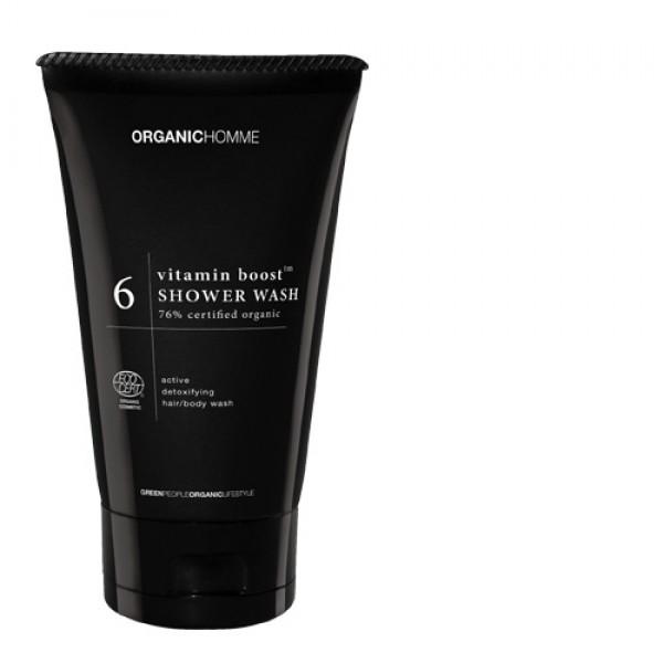 Organic Homme Vitamin Shower Wash