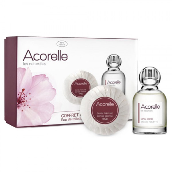 Acorelle Intense Cherry Natural Eau de Toilette Gift Set