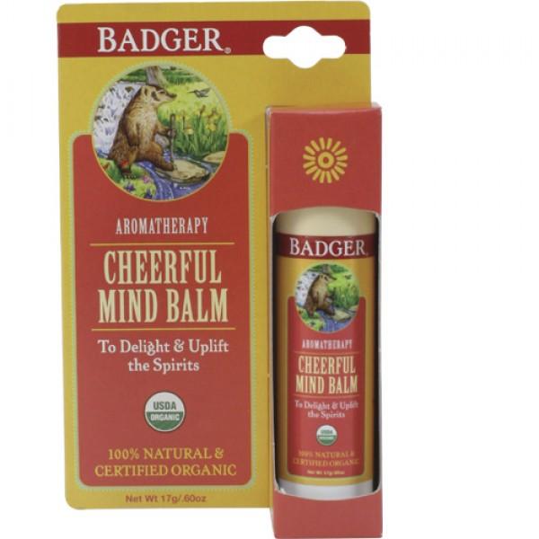 Badger Cheerful Mind Aromatherapy Balm
