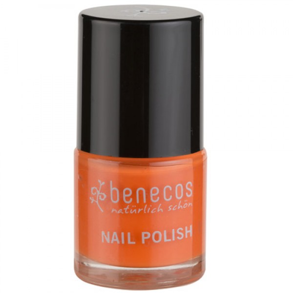 Benecos Nail Polish in Mighty Orange - 5 Free formula