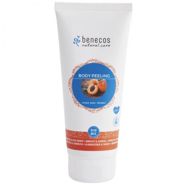 Benecos Body Scrub with Apricot & Elderflower