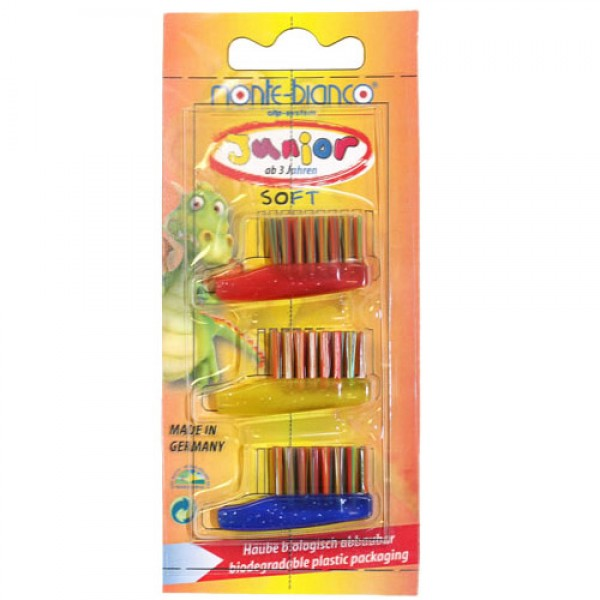 Soft Nylon Bristle Children's Brush Heads