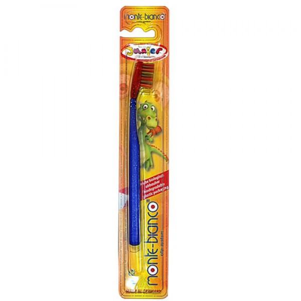 Soft Nylon Bristle Children's Toothbrush
