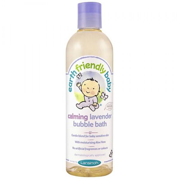 Earth Friendly Baby Calming Lavender Bubble Bath