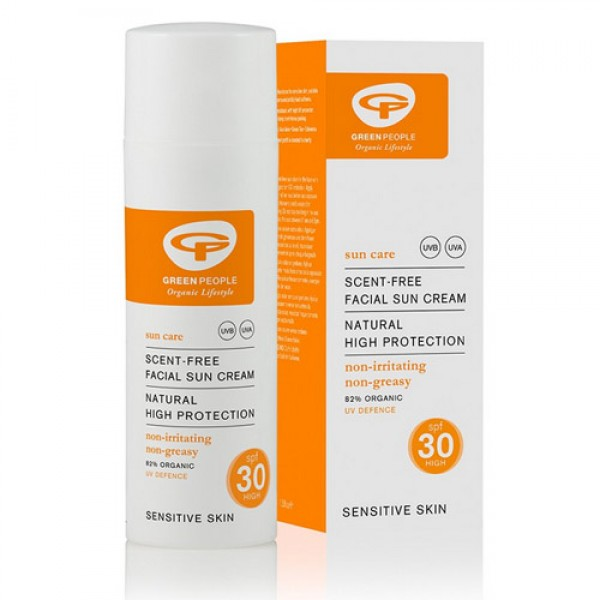 Green People Scent Free Facial Sun Cream SPF 30