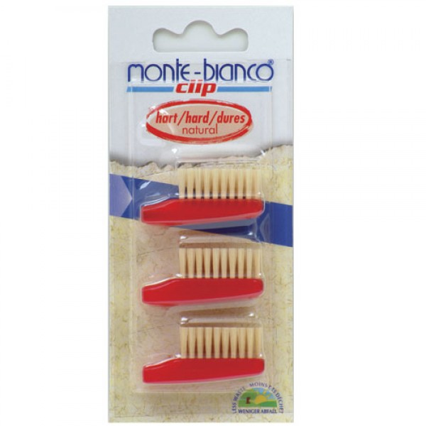 Natural Bristle Toothbrush Heads Hard