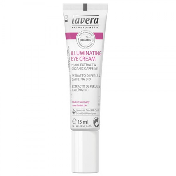 Lavera Illuminating Eye Cream for dark circles