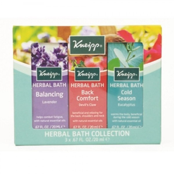 Kneipp Mini Bath Collection (3 x 20ml)