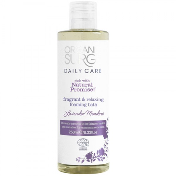 Organic Surge Lavender Meadow Bath Foam