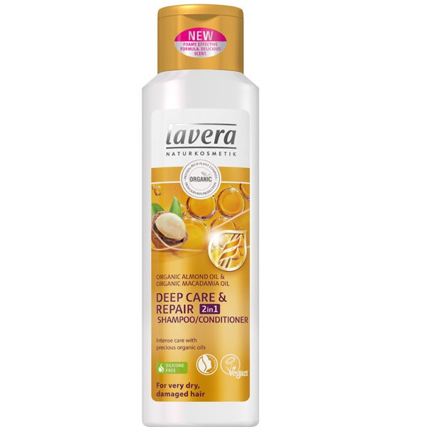 Lavera Deep Care & Repair 2 in 1 Shampoo