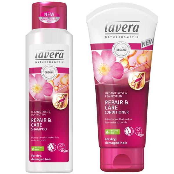 Lavera Repair & Care Bundle for Dry Hair
