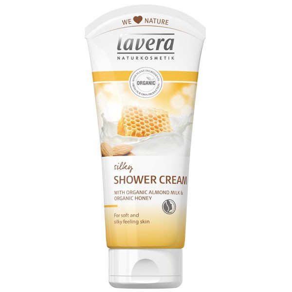 Lavera Silk Shower Cream with Honey & Almond Milk