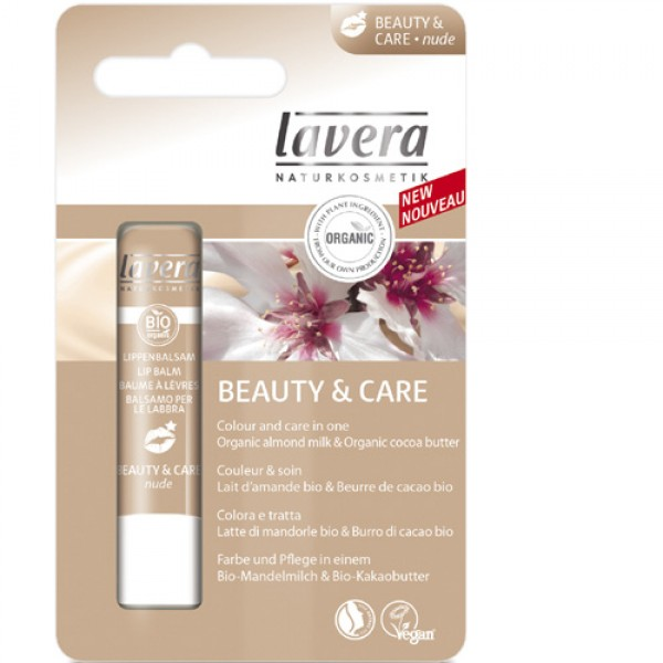 Lavera Beauty & Care Lip Balm Nude