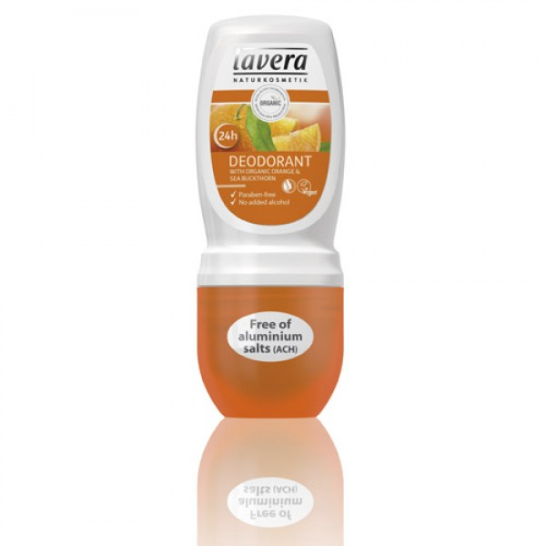 Lavera Orange Roll On Organic Deodorant