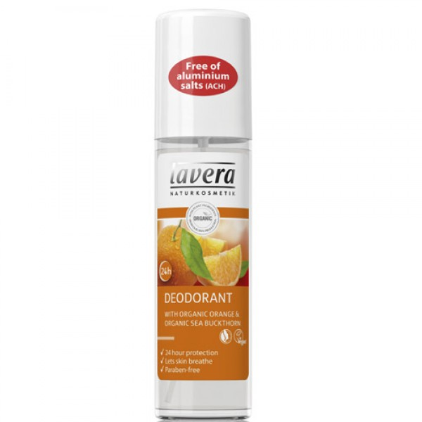 Lavera Orange Organic Deodorant Spray