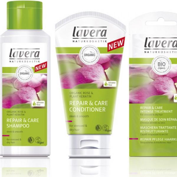 Lavera Hair Repair Bundle for Dry Hair