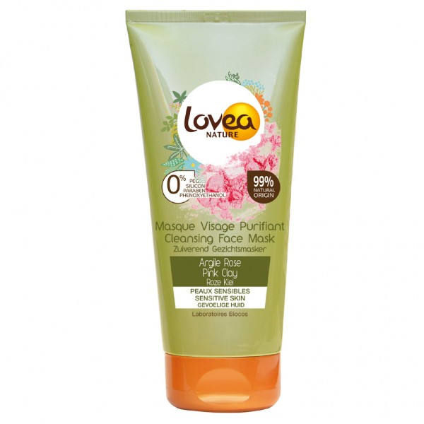 Lovea Pink / Rose Clay Face Mask