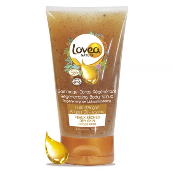 Lovea Argan Regenerating Body Scrub