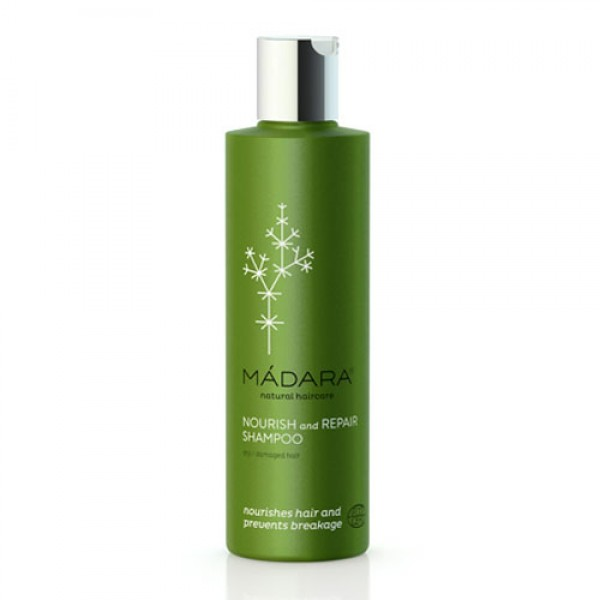 Madara Nourish & Repair Organic Shampoo for dry and damaged hair