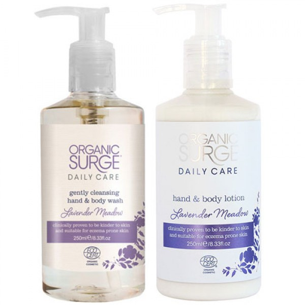 Organic Surge Lavender Meadow Body Care Bundle