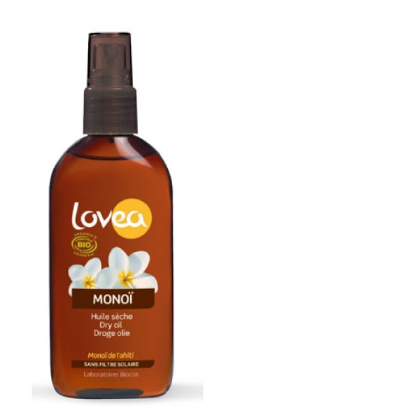 Lovea Organic Dry Oil Tanning Spray SPF 0