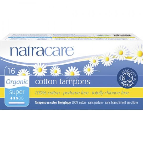 Natracare Applicator Tampons (Super)