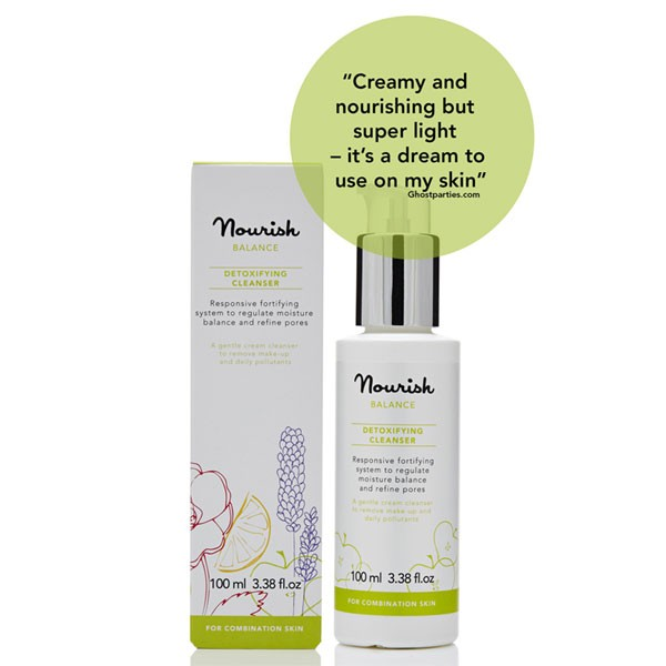 Nourish Balance Detoxifying Cleanser for combination skin