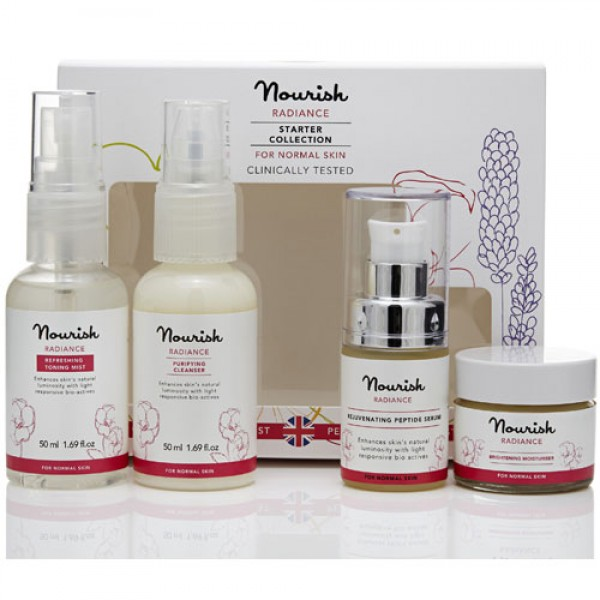 Nourish Radiance Normal Skin Starter Collection