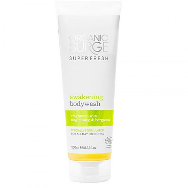 Organic Surge Super Fresh Awakening Body Wash