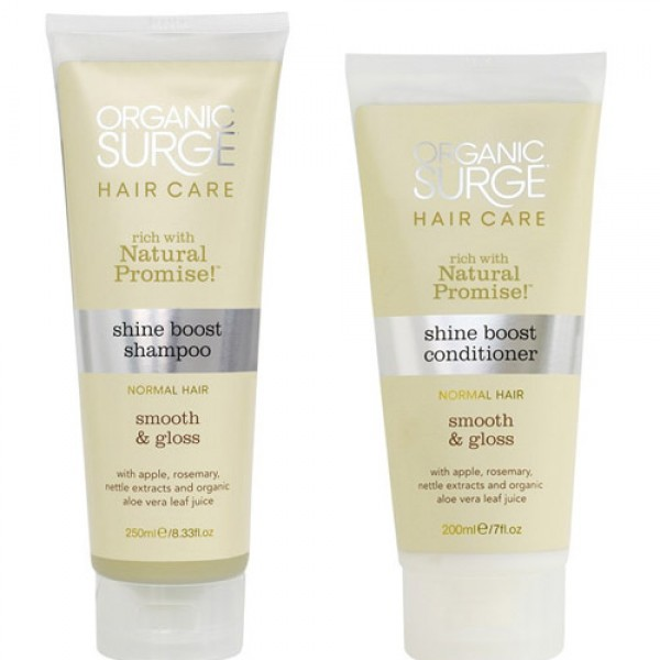 Organic Surge Shine Shampoo & Conditioner Boost Bundle