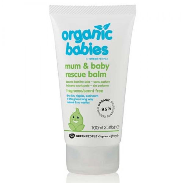 Organic Babies Mum & Baby Rescue Balm