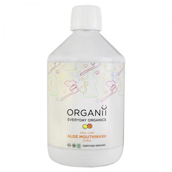 Organii Aloe Mouthwash - Citrus