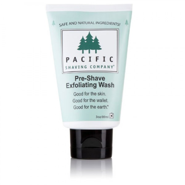 Pacific Pre Shave Exfoliating Wash