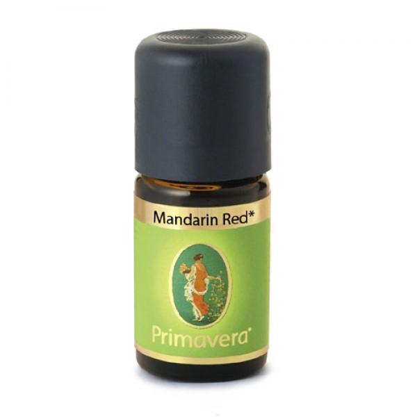 Primavera Mandarin Red Essential Oil - Demeter Certified Organic