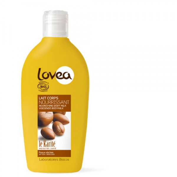 Lovea Shea Butter Organic Body Lotion