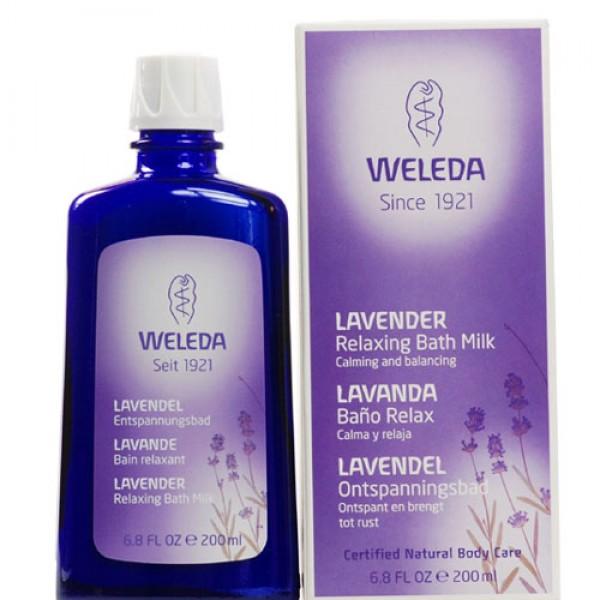 Weleda Lavender Relaxing Bath Milk