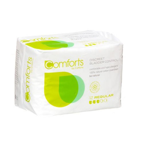 Comforts Regular Pads for bladder weakness