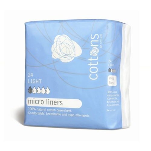 Cottons Micro Panty Liners