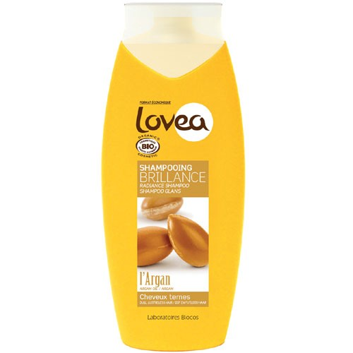 Lovea Argan Organic Shampoo 400ml