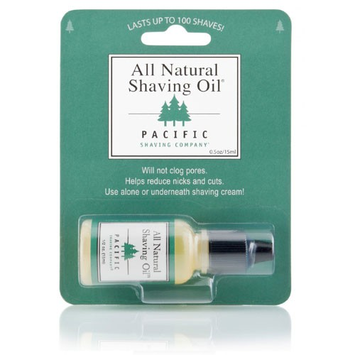 Pacific Shaving Company Natural Shaving Oil