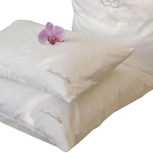 Silk Pillow Silk Filled Pillow Snow Blossom Silk